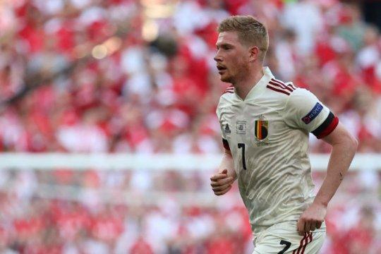 De Bruyne datang, Belgia menang