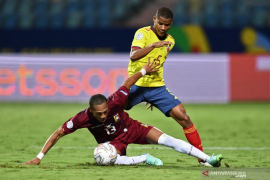 Kokohnya pertahanan Venezuela paksa Kolombia bermain imbang 0-0