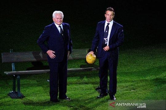 Boniperti, mantan pencetak gol terbanyak Juventus meninggal dunia