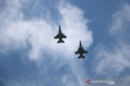 TNI AU dan Angkatan Udara AS memulai latihan manuver udara