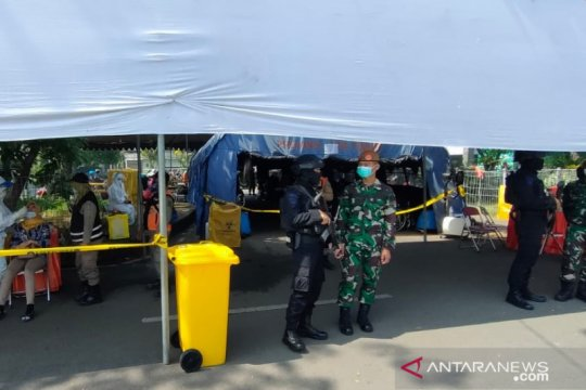 Posko penyekatan Suramadu diperketat menyusul perusakan fasilitas