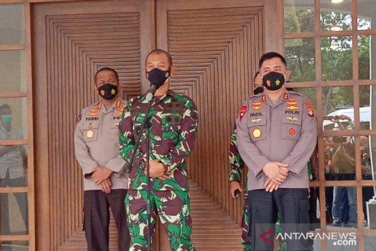 "Polda Metro-Kodam Jaya evaluasi target PPKM dan ""herd immunity"""
