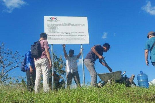 KPK sita enam bidang tanah di Maros diduga milik Nurdin Abdullah