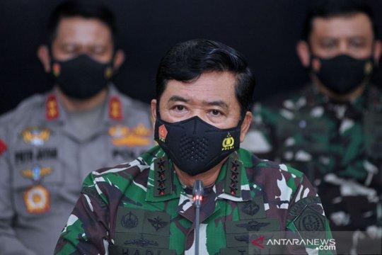 Panglima TNI minta Forkopimda perkuat 3T untuk tekan COVID-19