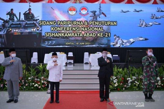 Wapres: Alat utama sistem senjata TNI harus modern