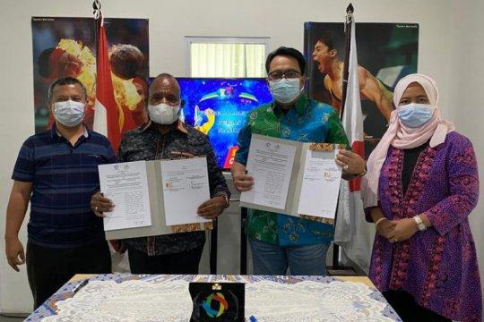 Kerjasama pengelolaan dana komersial Perparnas XVI Papua resmi diteken