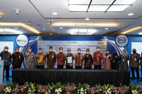 11 bank biayai Jalan Tol Serang-Panimbang Rp6 triliun