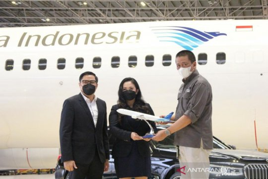 "Garuda Indonesia bersama BMW resmikan program ""The Prestige Service"""