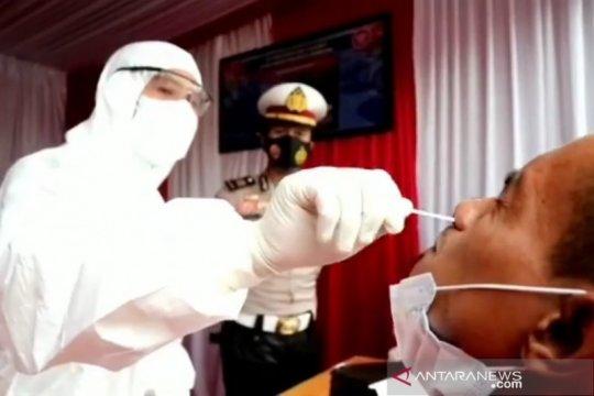 Polisi temukan lima orang reaktif COVID-19 di pos penyekatan Soreang
