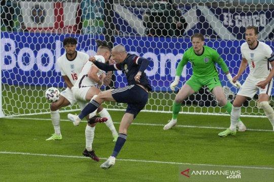 Euro 2020 : Inggris vs Skotlandia berakhir imbang
