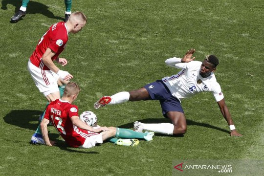 Piala Eropa 2020 : Hongaria vs Prancis imbang 1-1