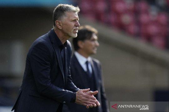 Walau cuma dapat satu poin, pelatih Ceko puas karena lawannya Kroasia
