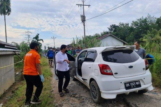 Pemred media online di Sumut tewas dalam mobil dengan luka tembak