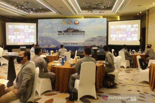 Sebanyak 36 negara ikuti The 10th Maritime Security Desktop Exercise