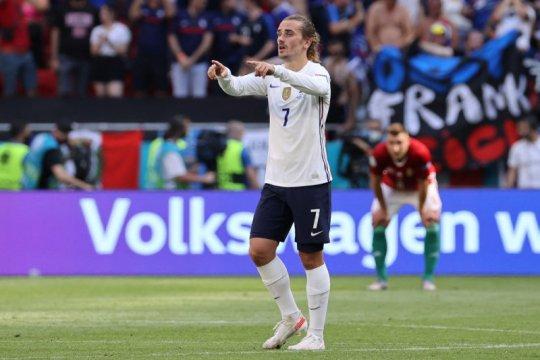 Menurut Griezmann penonton jadi faktor Prancis hanya bisa seri 1-1
