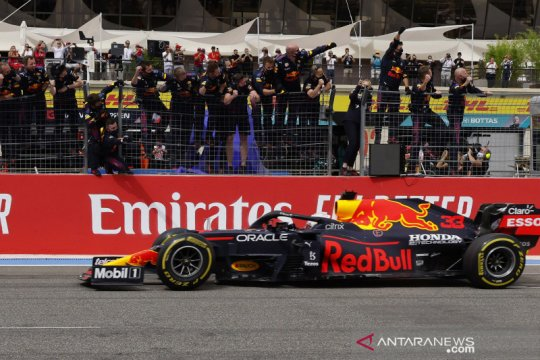 Verstappen kalahkan Hamilton di GP Prancis, hattrick untuk Red Bull
