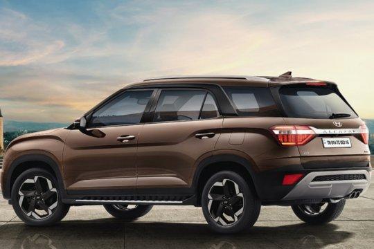 Tampilan Hyundai Alcazar, SUV pesaing Tata Safari & MG Hector Plus