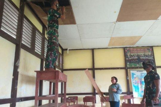 Satgas Pamtas gelar kegiatan sosial bagi masyarakat perbatasan Kalbar