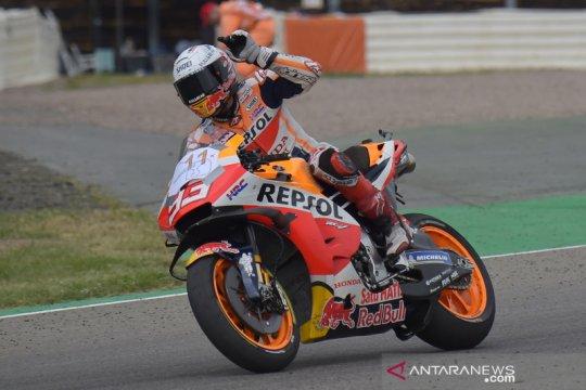 Marc Marquez  juara MotoGP Jerman 2021
