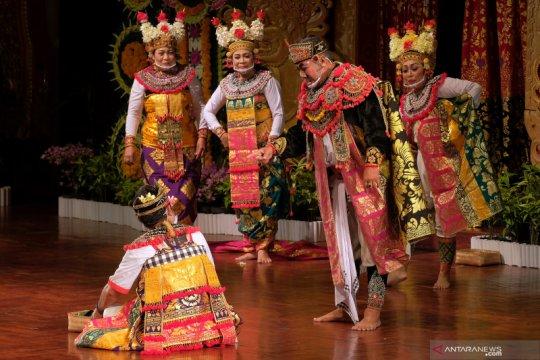 Pagelaran arja klasik di Pesta Kesenian Bali