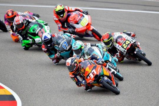 Acosta juarai GP Jerman, Indonesian Racing kehilangan podium