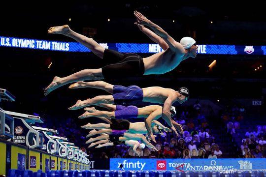 Kompetisi renang tim Olimpiade Amerika Serikat