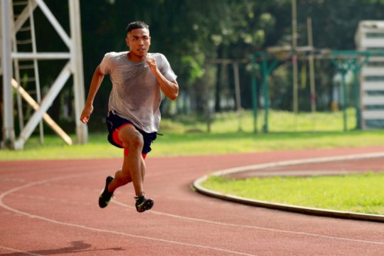 Profil atlet Olimpiade Tokyo: sang sprinter Lalu Muhammad Zohri