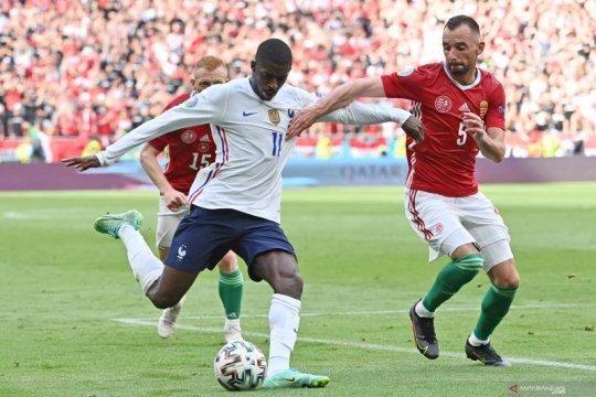 Euro 2020 berakhir lebih cepat untuk Ousmane Dembele
