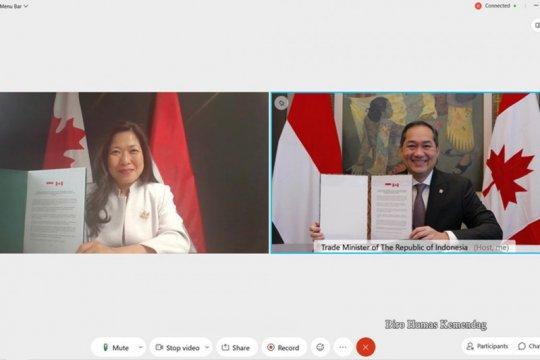 Indonesia, Kanada luncurkan perjanjian perundingan komprehensif