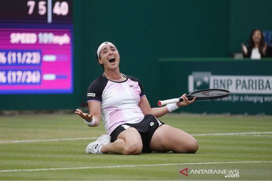 Jabeur jadi petenis wanita Arab pertama ke delapan besar Wimbledon