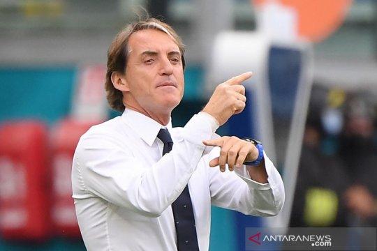 Mancini beberkan alasan rotasi besar-besaran Italia lawan Wales