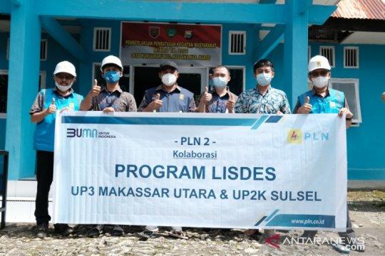 32 keluarga di Dusun Tanete Maros teraliri listrik PLN