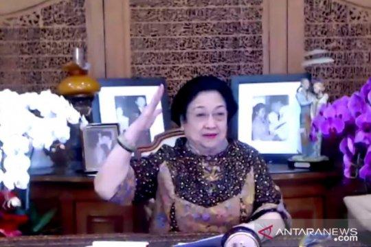 """Megawati ingin populerkan """"Salam Pancasila"""" untuk jaga persatuan"""