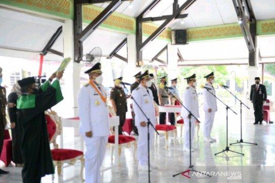 Gubernur Riau lantik Bupati Siak dan Rokan Hulu