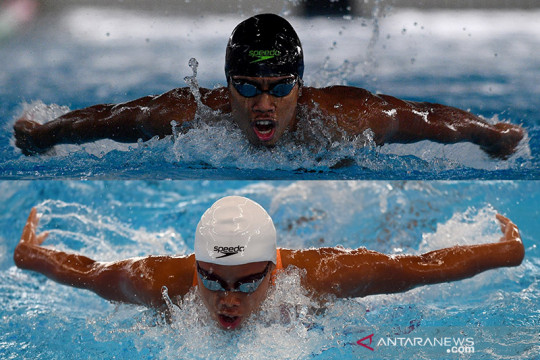 Fadlan dan Azzahra terhenti di babak penyisihan Olimpiade Tokyo