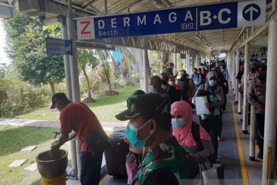 224 pekerja migran pulang dari Malaysia masih dikarantina di Batam