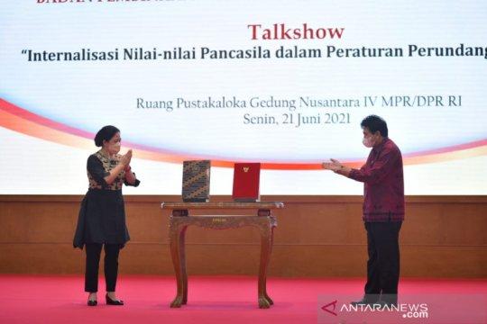 Puan ingatkan Pancasila harus teraktualisasi dalam pembentukan UU