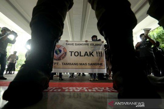 Aktivis tuntut  izin tambang emas di Pulau Sangihe dicabut