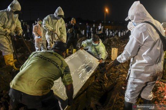143 pemakaman jenazah COVID-14 di DKI pecahkan rekor tertinggi harian