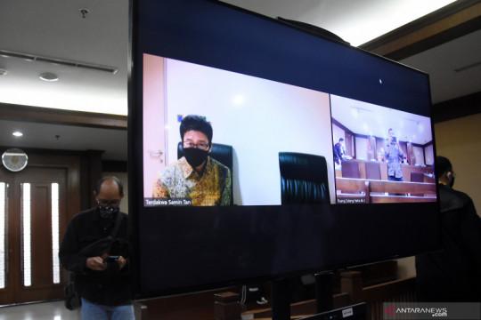 Pengusaha penyuap politisi Golkar Eni Saragih dituntut 3 tahun penjara