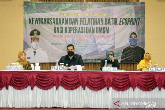 Batik ecoprint akan dikembangkan di Kota Probolinggo