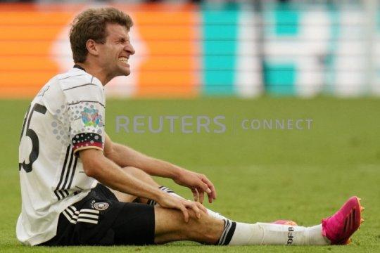 Empat pemain Jerman cedera, mungkin absen lawan Hungaria