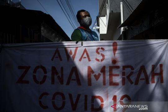 Indonesia tembus dua juta kasus COVID-19