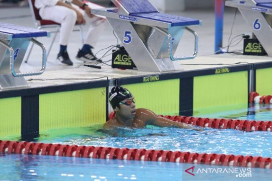 Aflah Fadlan belum mampu tembus final 1.500m gaya bebas Olimpiade