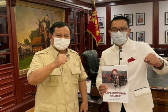Ridwan Kamil bertemu dengan Prabowo bahas berbagai hal