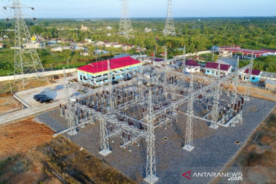 PLN selesaikan pembangunan jaringan transmisi SUTT 150 KV di Riau