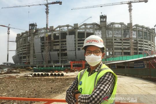 Realisasi pembangunan JIS meningkat menjadi 60,28 persen