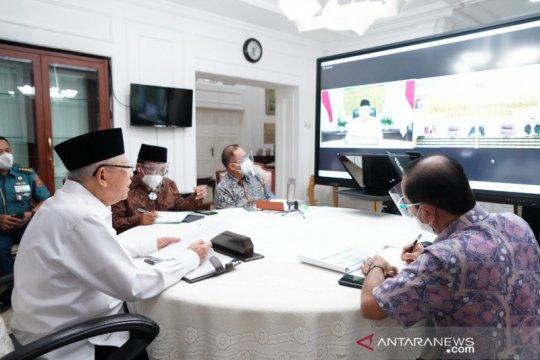 Wapres berharap Universitas Cendrawasih Papua jadi wadah pemikir