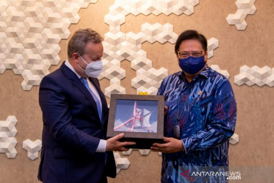 Menko Airlangga : Ceko dukung pembangunan berkelanjutan Indonesia