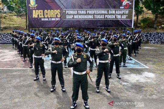 HUT ke-75, Polisi Militer TNI AD didorong terus berinovasi